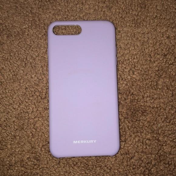9fb4d47a67 Merkury Accessories | Soft Purple Phone Case Iphone 8 Plus | Poshmark